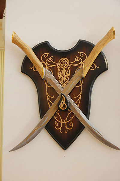 The fighting knives of Legolas Greenleaf - Arrediamo Insieme Palermo