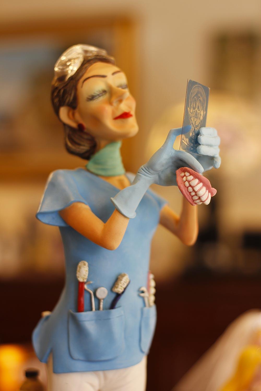 Oggetti da collezione - Statuetta dentista - Arrediamo Insieme Palermo