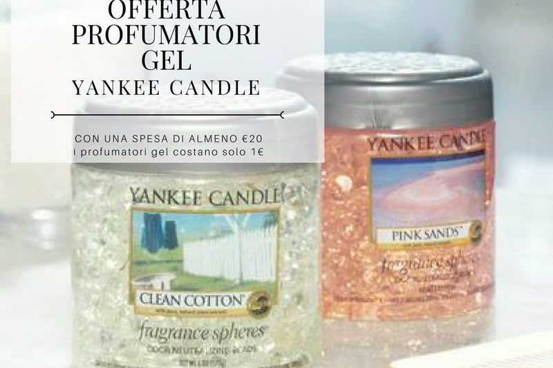 OFFERTA PROFUMATORI GEL YANKEE CANDLE - Arrediamo Insieme Palermo